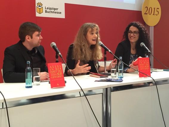 v.l.n.r.: Klaus Lohmann, Marion Schneider, Safyie Can